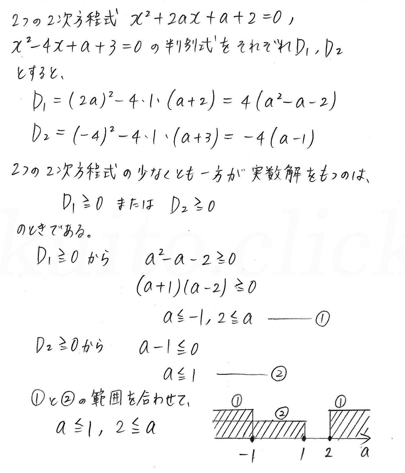 3TRIAL数学Ⅰ-199解答