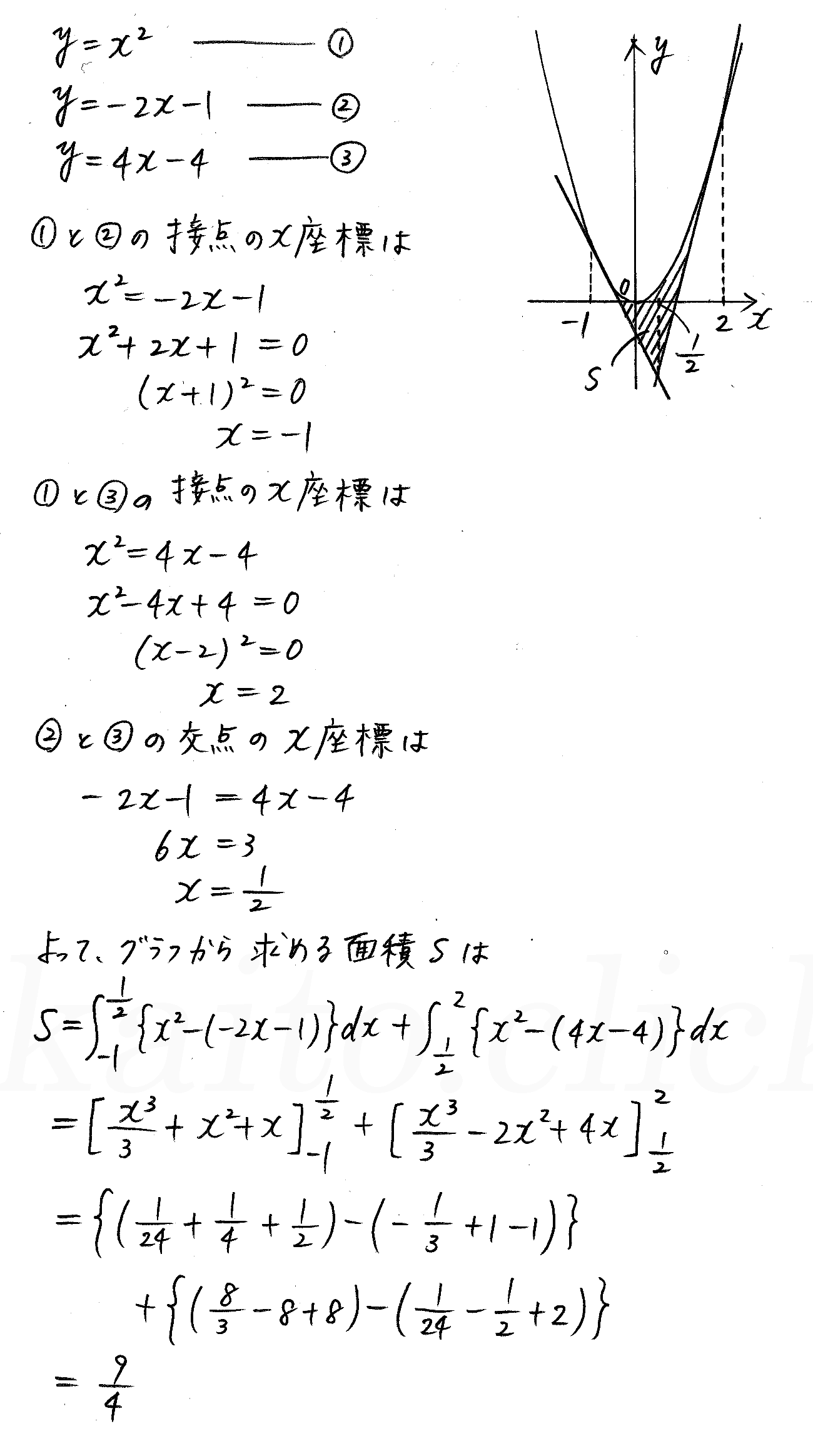 3TRIAL数学2-446解答