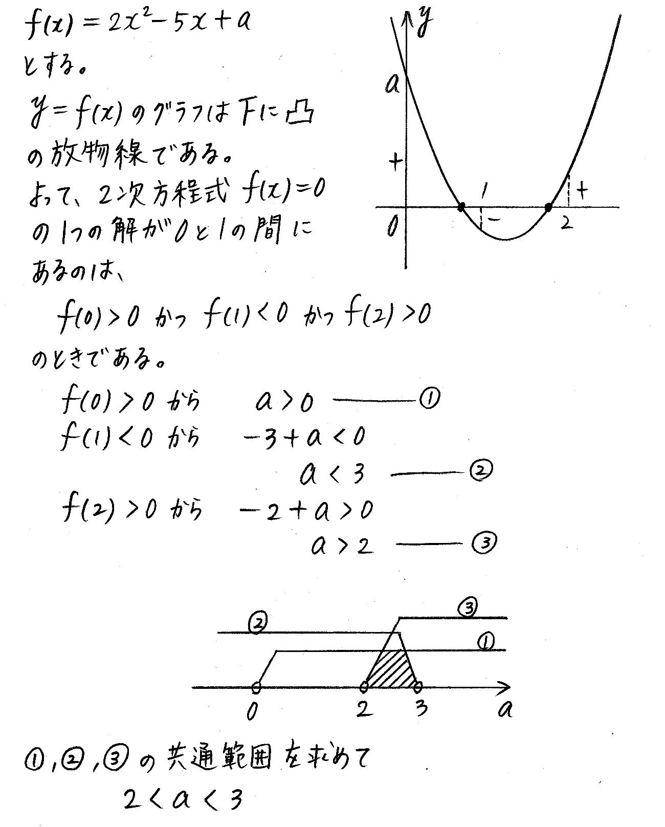 改訂版4プロセス数学Ⅰ-219解答