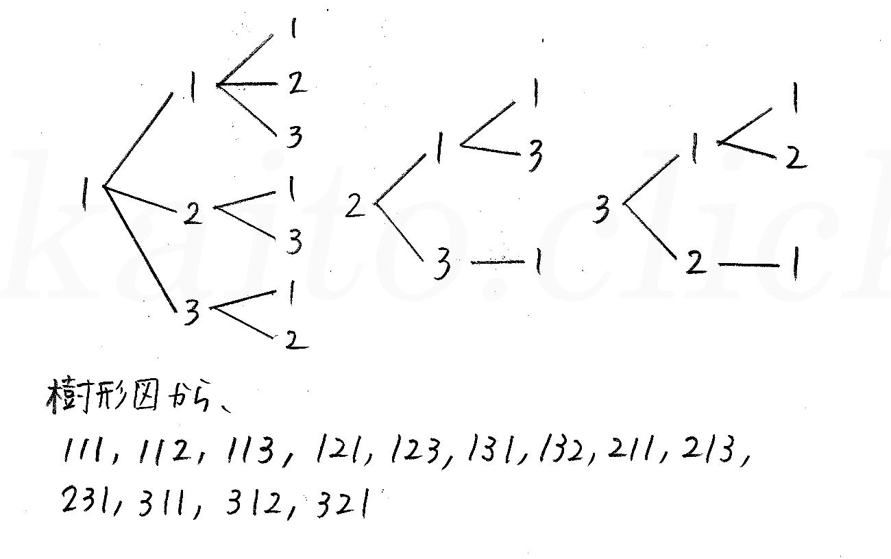 改訂版4プロセス数学A-25解答