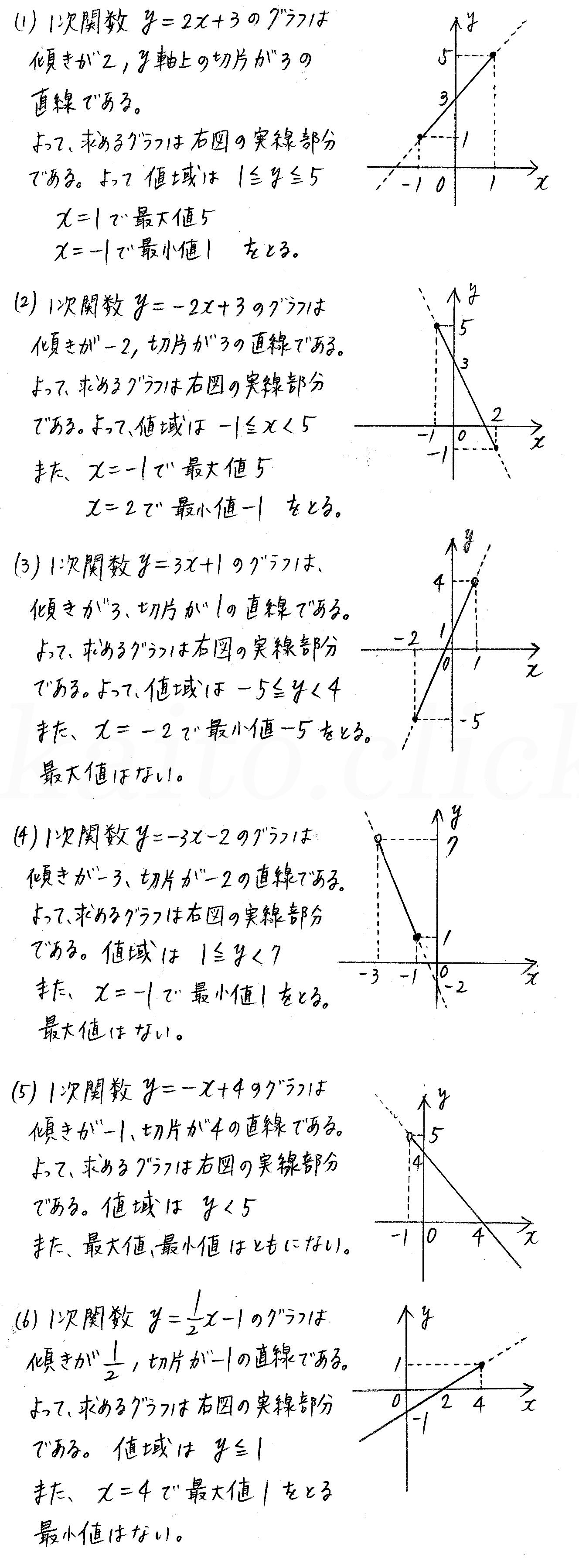 改訂版4STEP数学1-123解答