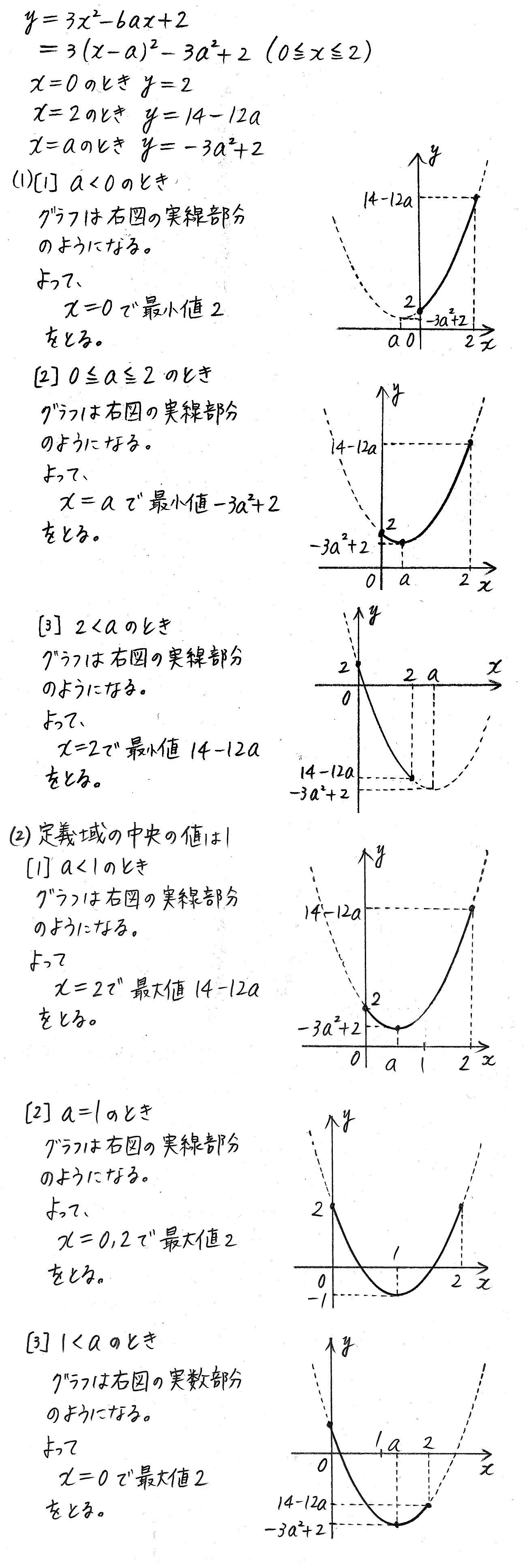改訂版4STEP数学1-147解答