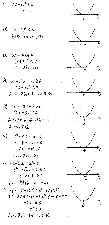改訂版4STEP数学1-200解答