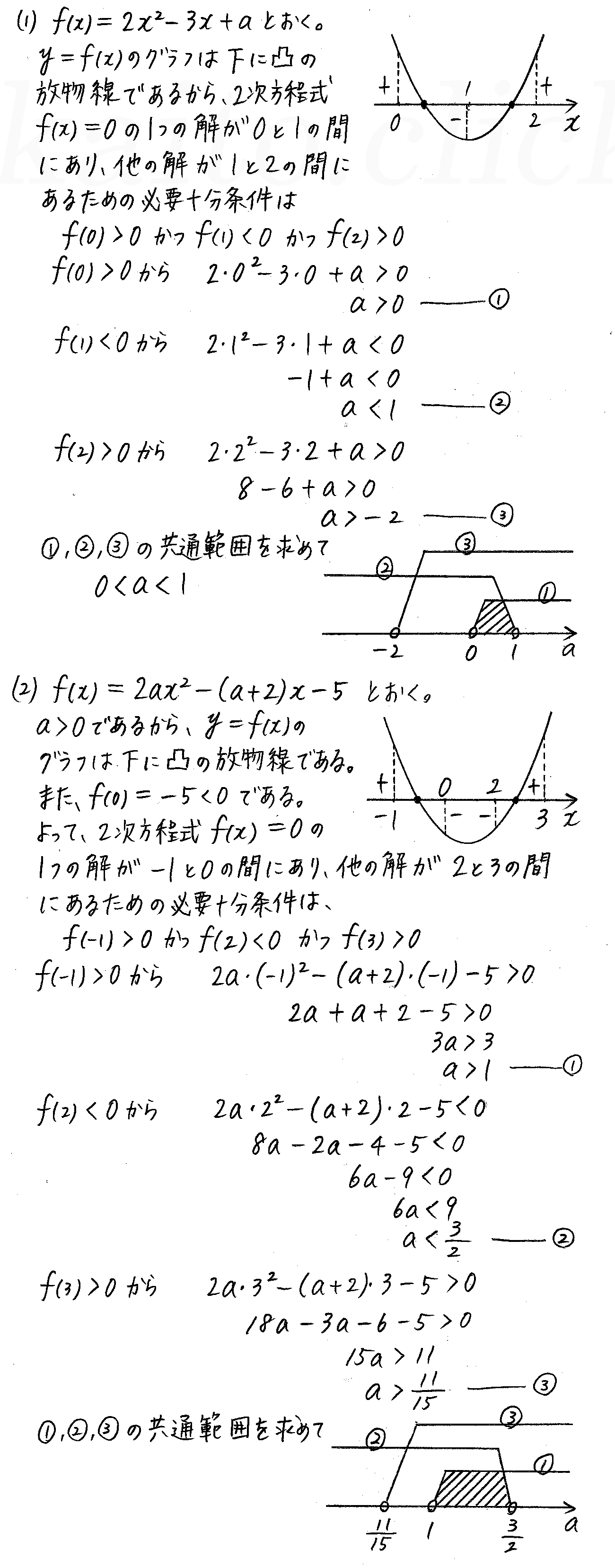 改訂版4STEP数学1-224解答