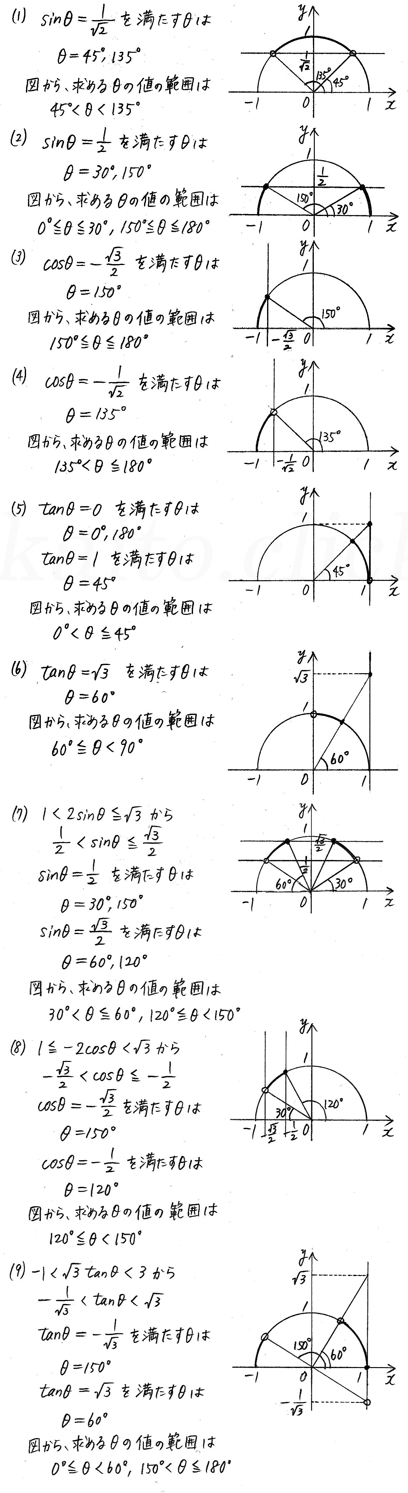 改訂版4STEP数学1-266解答