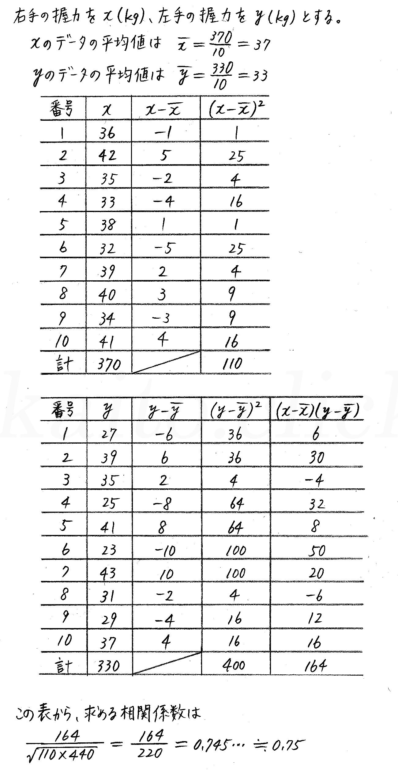 改訂版4STEP数学1-342解答