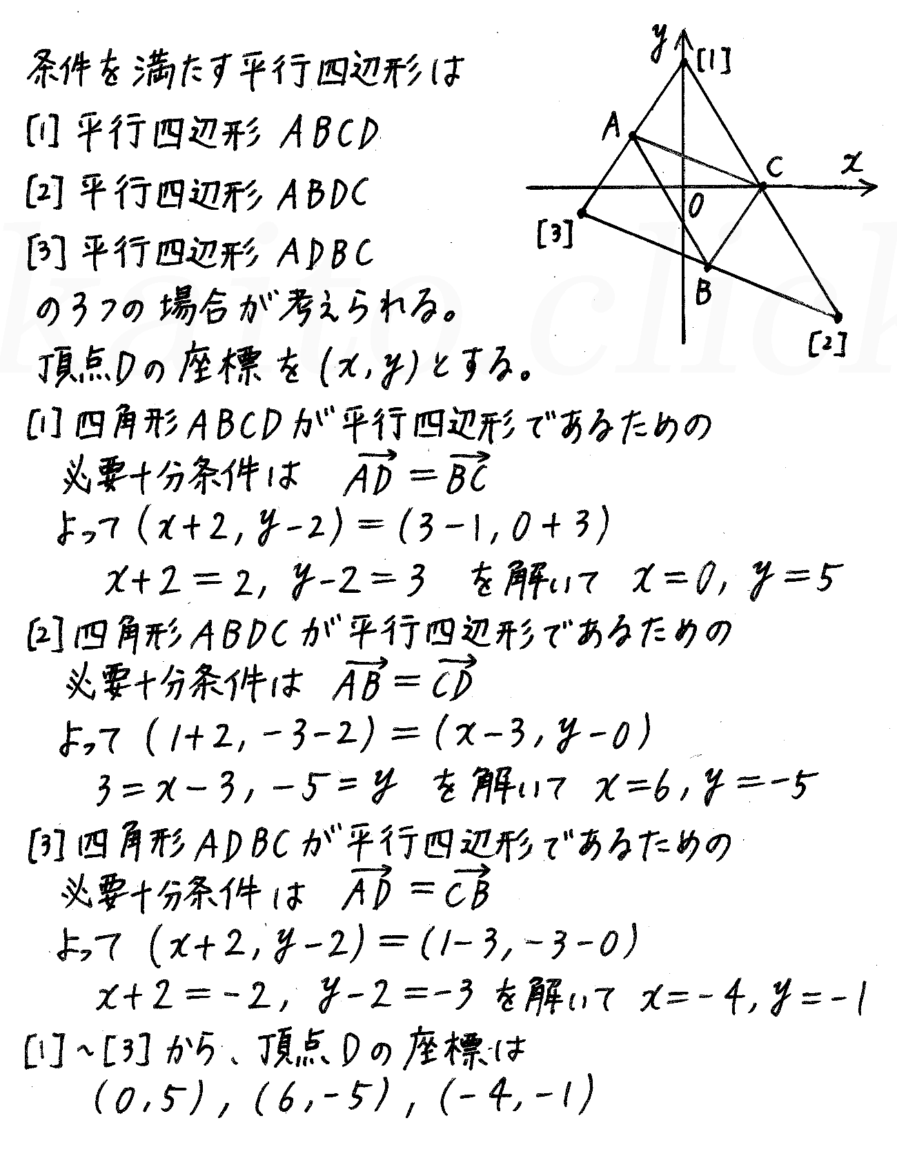 4STEP数学B-21解答