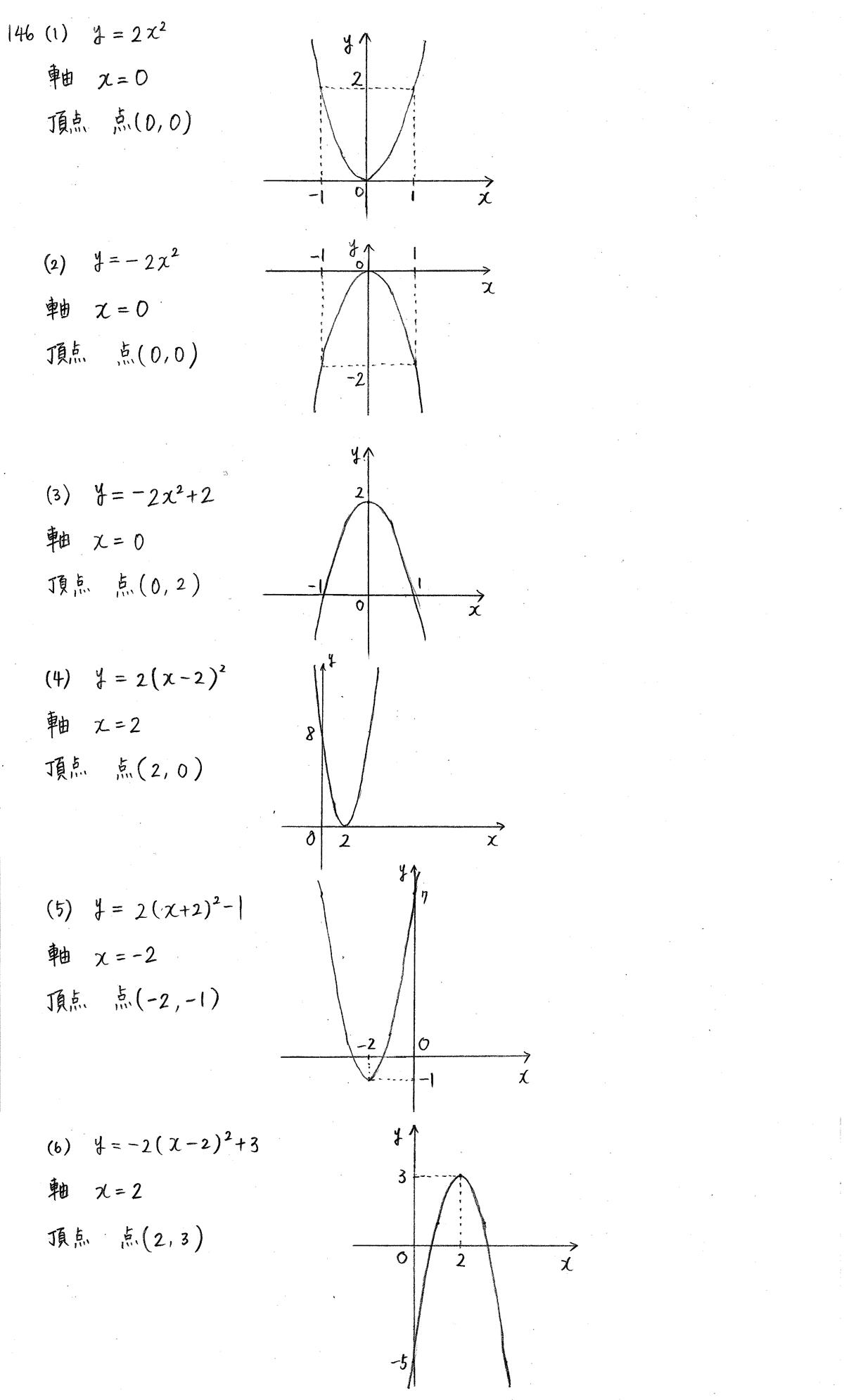 クリアー数学1-146解答