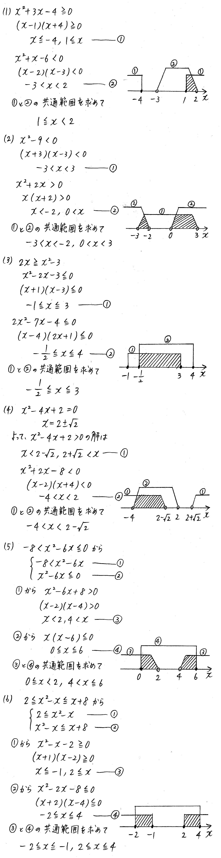 クリアー数学1-230解答