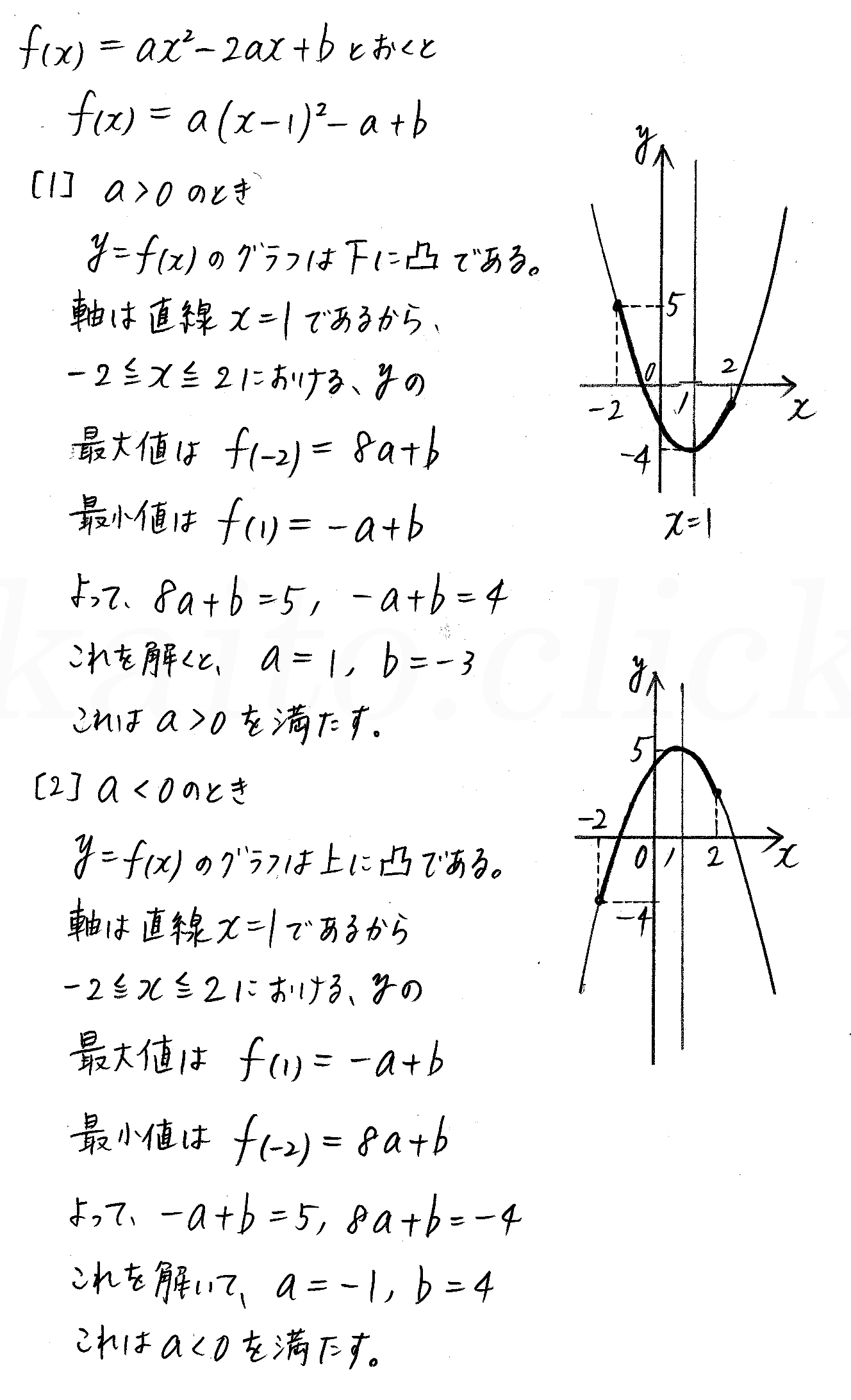 クリアー数学1-254解答