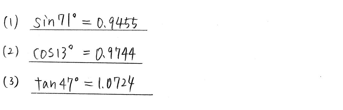 クリアー数学1-263解答
